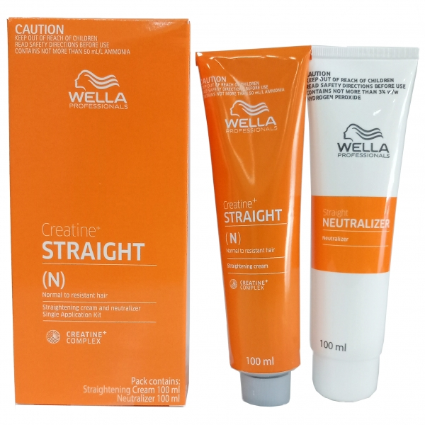 WellaStrate Hair Straight it Ubat Lurus Rambut Wella Rebonding 100ml